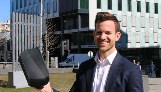 LADE-EKSPERT: Marius Blaker Høgevold er leder for hjemmelading hos Circle K.