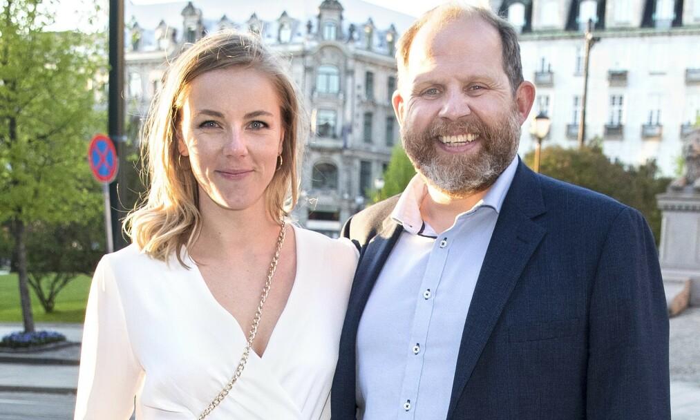 <strong>LYKKEN SMILER:</strong> Truls Svendsen og kjæresten blir snart foreldre for første gang. Det blir de i et helt nytt hjem, med en god gevinst i lomma. Foto: Andreas Fadum