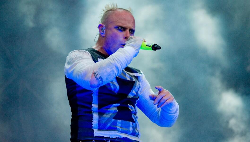 <strong>DØD:</strong> The Prodigy-vokalist Keith Flint ble funnet død i sitt hjem tidligere i år. Foto: Duncan Bryceland/REX/ NTB scanpix
