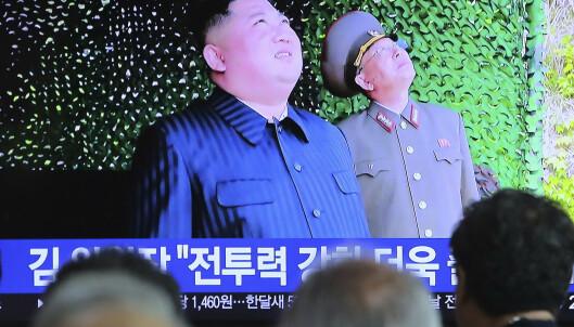 Nord-Korea har avfyrt flere prosjektiler