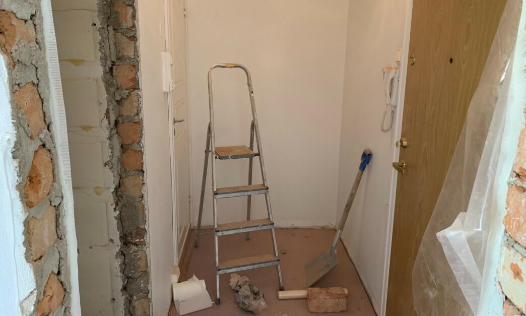 <strong>OPPUSSINGSTID:</strong> Hvis du er lei av boligens gamle utseende, eller nettopp har kjøpt ny bolig som du vil gjøre mer «deg», kan en oppussing være løsningen. Noe av jobben kan du gjøre selv, mens annet bør du overlate til faglærte. Foto: Eilin Lindvoll.
