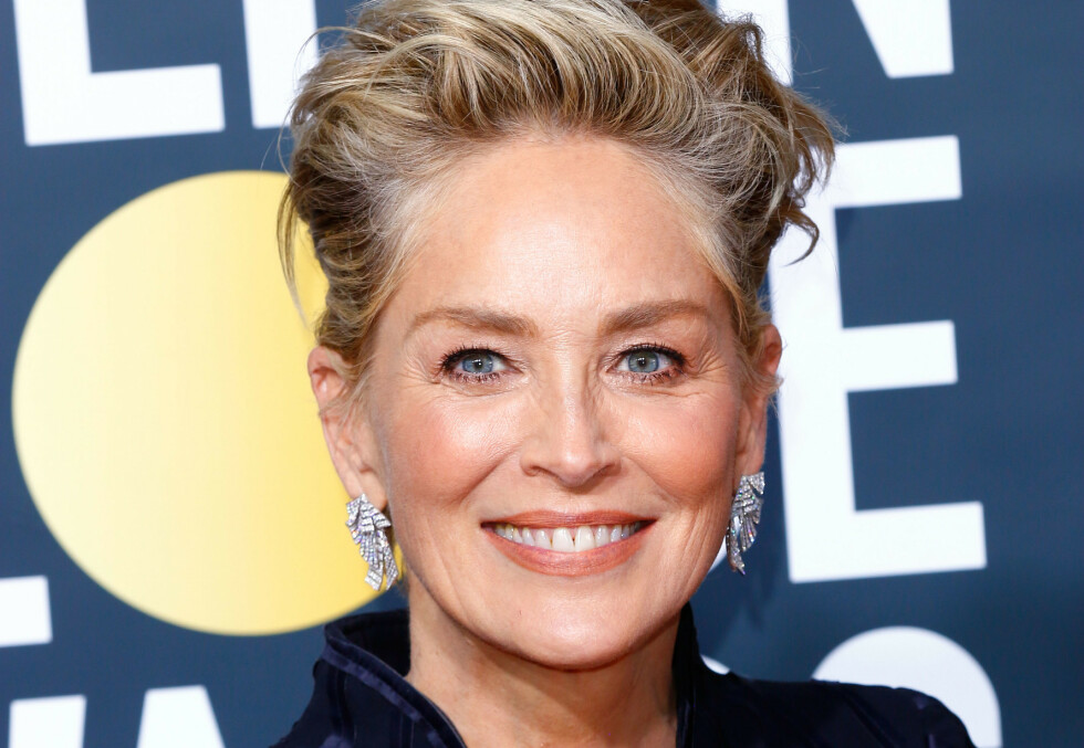 FÅR ROS: Skuespiller Sharon Stone overrasker i ny bildeserie for Vogue. Nå hylles hun av blant andre kjendisstylist Jan Thomas. Foto: NTB Scanpix