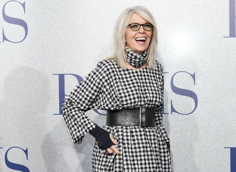 IKKE ET HELT NYTT FENOMEN: Skuespiller Diane Keaton het ikke Keaton opprinnelig. FOTO: NTB Scanpix