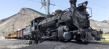 Da tog fra øst møtte tog fra vest på den amerikanske prærien