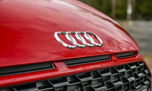 FALSKT INNTAK: Design-element tatt fra1984 Audi Sport Quattro Group B. Tøft, men uten funksjon. Foto: Jamieson Pothecary