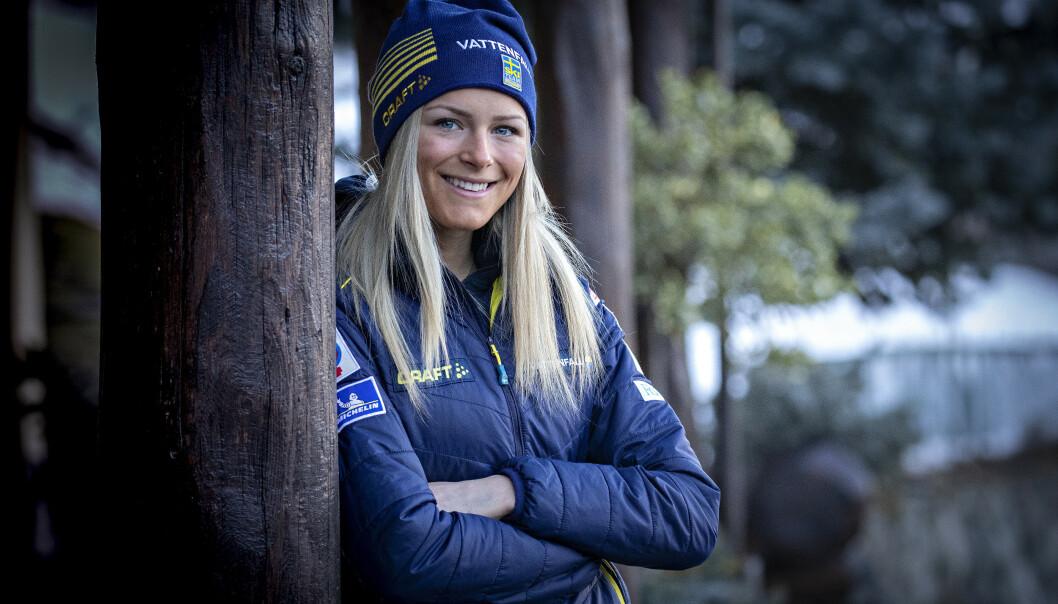 SLÅR TILBAKE: Frida Karlsson forstår ikke Kristine Stavås Skistads utspill. Foto: Bjørn Langsem / Dagbladet