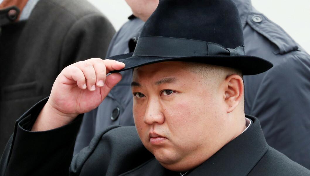 <strong>LEDER:</strong> Kim Jong-un skal ha vært misfornøyd med samtalene med USA. Foto: REUTERS/Shamil Zhumatov/File Photo