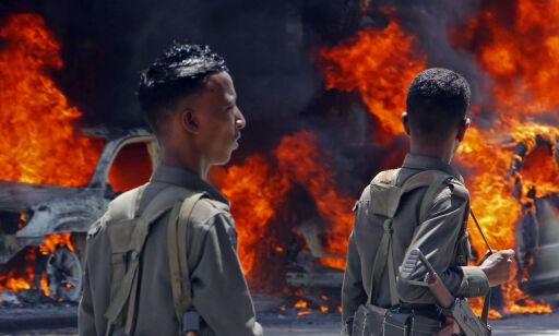 image: USA hevder å ha drept 17 IS-krigere i Somalia