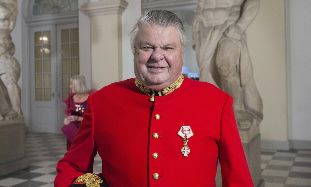 NEDGRADERES: Kongehusvennen Christian Kjær fratas alle kongelige titler, etter å ha kjørt ned en trafikkdirigent. Foto: Liselotte Sabroe / NTB Scanpix