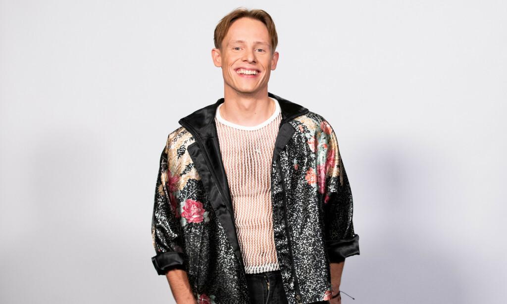LÅTAKTUELL: Sondre Justad slapp fredag låta «Fontena på Youngstorget», som handler om et forhold han har hatt til en annen norsk artist. Hvem det er han har datet, er imidlertid ikke kjent. Foto: TV 2