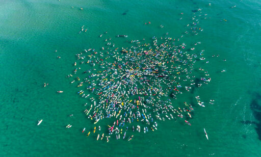 image: Varsler flere surfeprotester mot Equinors oljeplaner i Australia