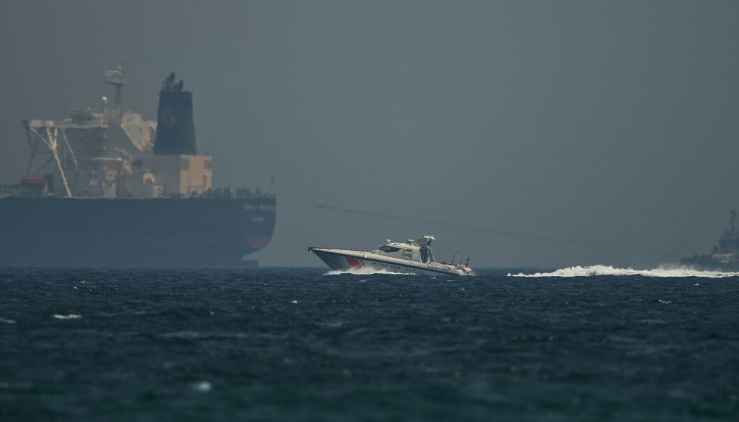 Norsk skip ble angrepet