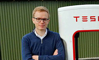 IKKE FONØYD: Kommunikasjonssjef i Tesla, Even Sandvold Roland, vil ha flere tilfredse kunder. Foto: NTB Scanpix