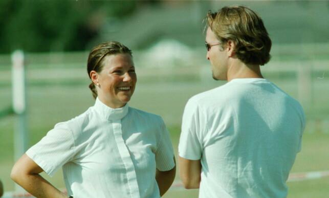 SOM ERTERIS: Thomas Ødegaard ble kjent med prinsesse Märtha Louise da han var fadderen hennes. De to var sammen i et års tid, fra 1997 til 1998. Foto: Rolf Tamber / Dagbladet
