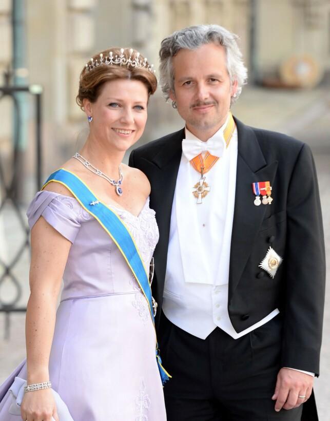 EKSMANNEN: Prinsesse Märtha Louise giftet seg med forfatter Ari Behn i 2002. Paret fikk tre døtre sammen. I 2016 tok paret ut skilsmisse. Foto: NTB scanpix