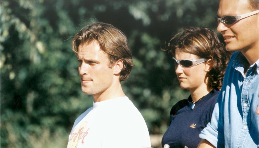 SOM ERTERIS: Thomas Ødegaard ble kjent med prinsesse Märtha Louise da han var fadderen hennes. De to var sammen i et års tid, fra 1997 til 1998. Foto: Aller Medias bildearkiv