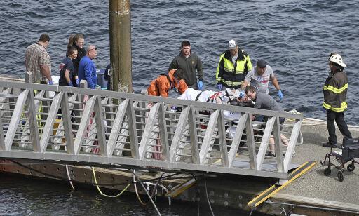 image: To fly kolliderte i lufta - minst fem personer omkom