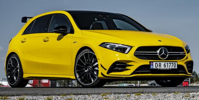 Golf R eller billigste Mercedes-AMG?