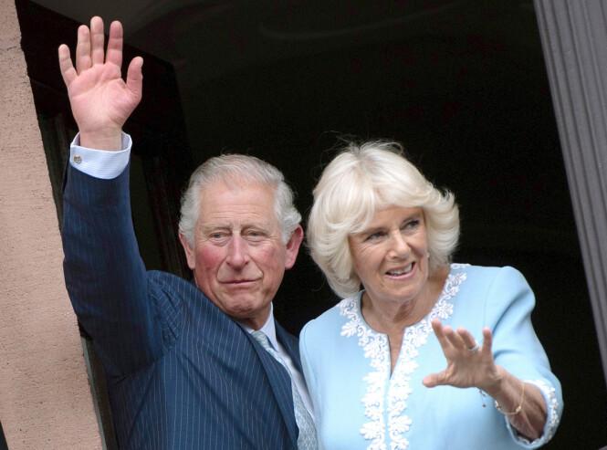 PÅ TUR I TYSKLAND: Prins Charles og hertuginne Camilla. Foto: Scanpix