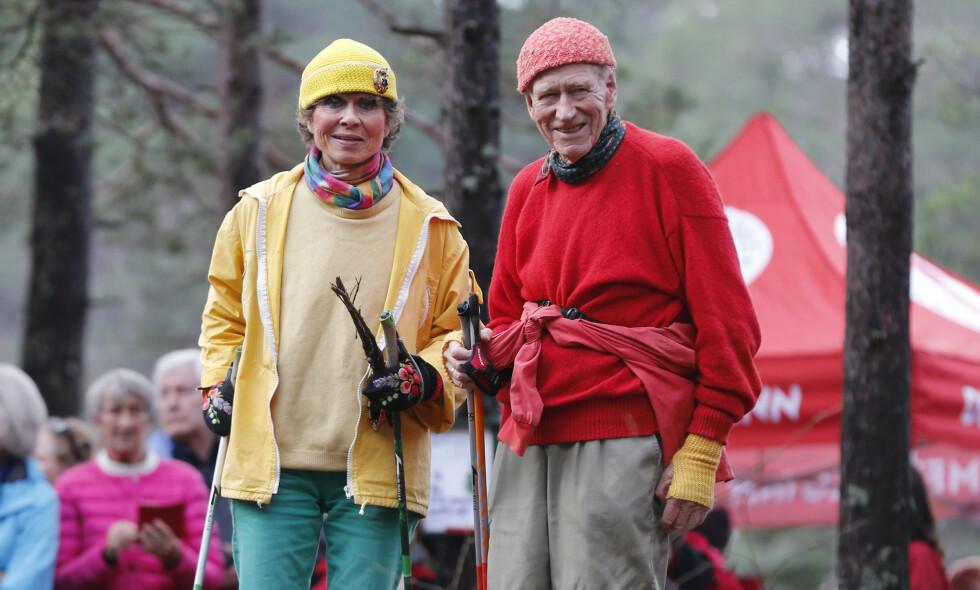 SKAL GIFTE SEG: Sissel Berdal Haga (79) og Olav Thon (95) skal gifte seg i juni. Foto: Lise Åserud / NTB Scanpix