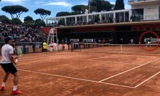 image: Se de unike bildene: Casper Ruud mot Rafael Nadal