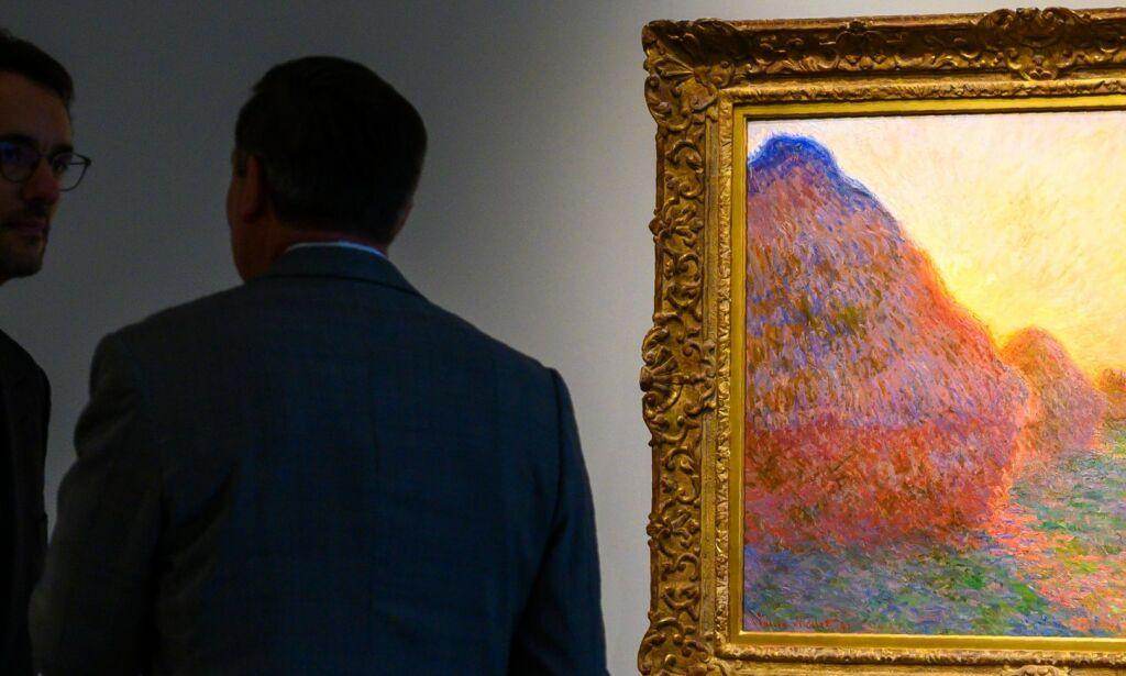 image: Monet-maleri solgt for 968 millioner kroner