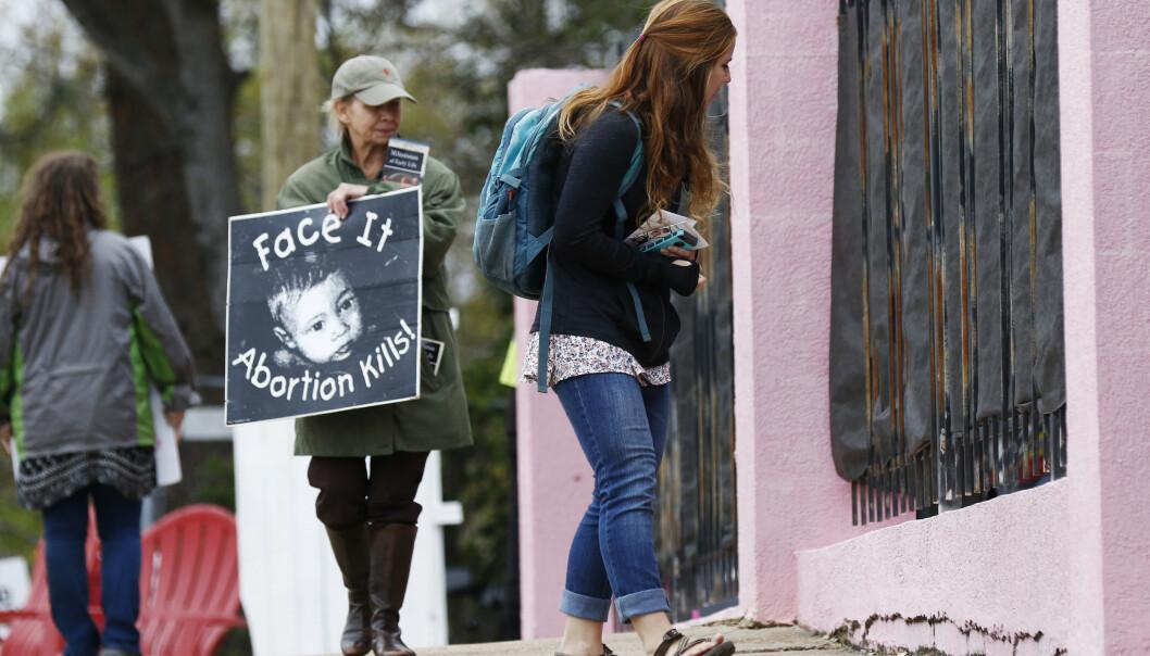 Abortmotstandere i Mississippi. Arkivfoto: Rogelio V. Solis / AP / NTB scanpix