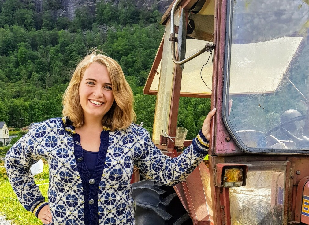 Seniorkonsulent og utvikler Aina Elisabeth Thunestveit i Bekk forteller om hverdagen i Trondheim. 📸: Privat