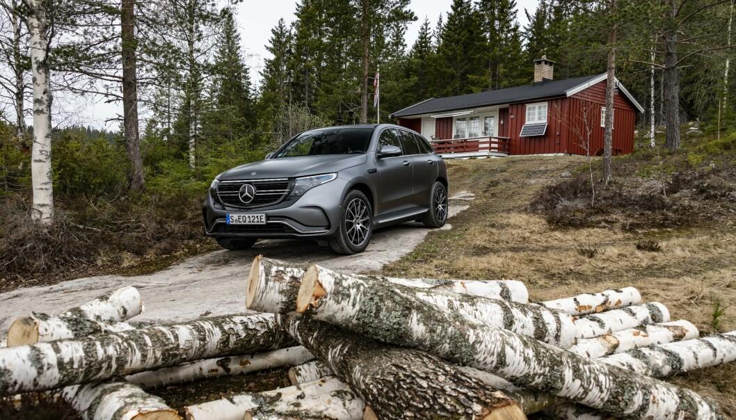 NORGE: Bilen ble lansert i elbilens hovedstad, Norge.