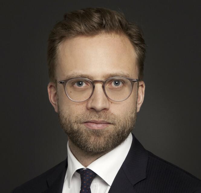 <strong>KRITISK:</strong> Nikolai Astrup (H), Norges første digitaliseringsminister, slettet sin personlige Facebook-konto som en protest for seks år siden. - Jeg har ikke savnet det ett eneste sekund, sier han. FOTO: Fotograf Sturlason/Utenriksdepartementet.