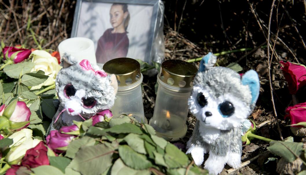 Lokalsamfunnet på Varhaug var sterkt preget etter drapet. (Foto: Carina Johansen / NTB Scanpix)