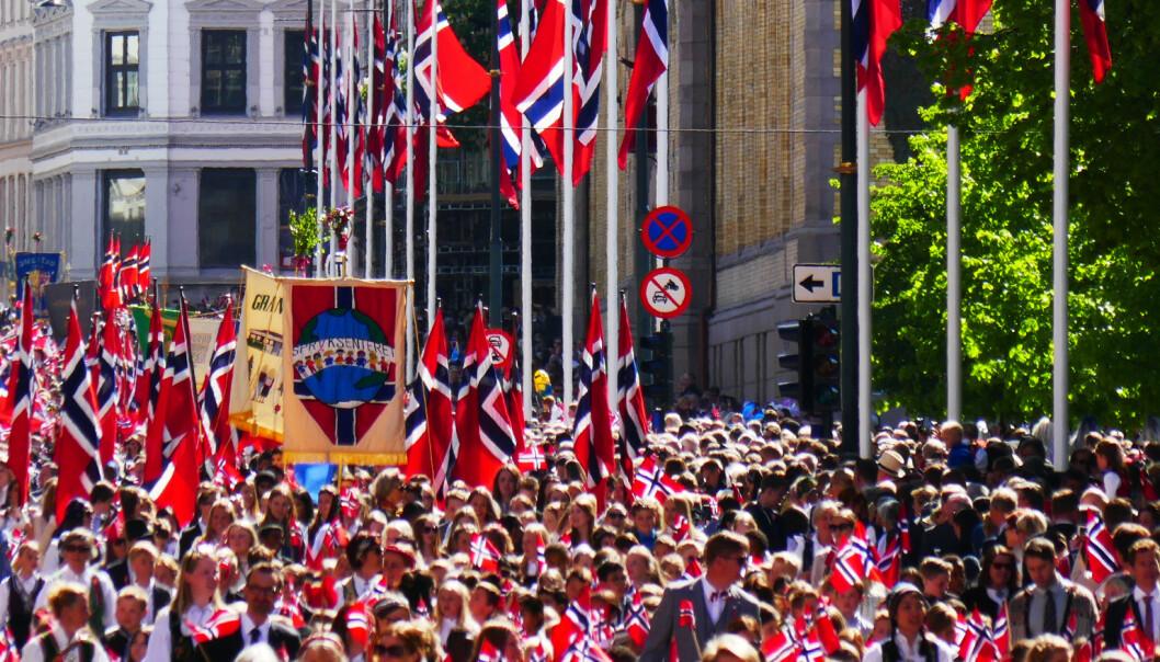 Sydenstemning flere steder på 17. mai