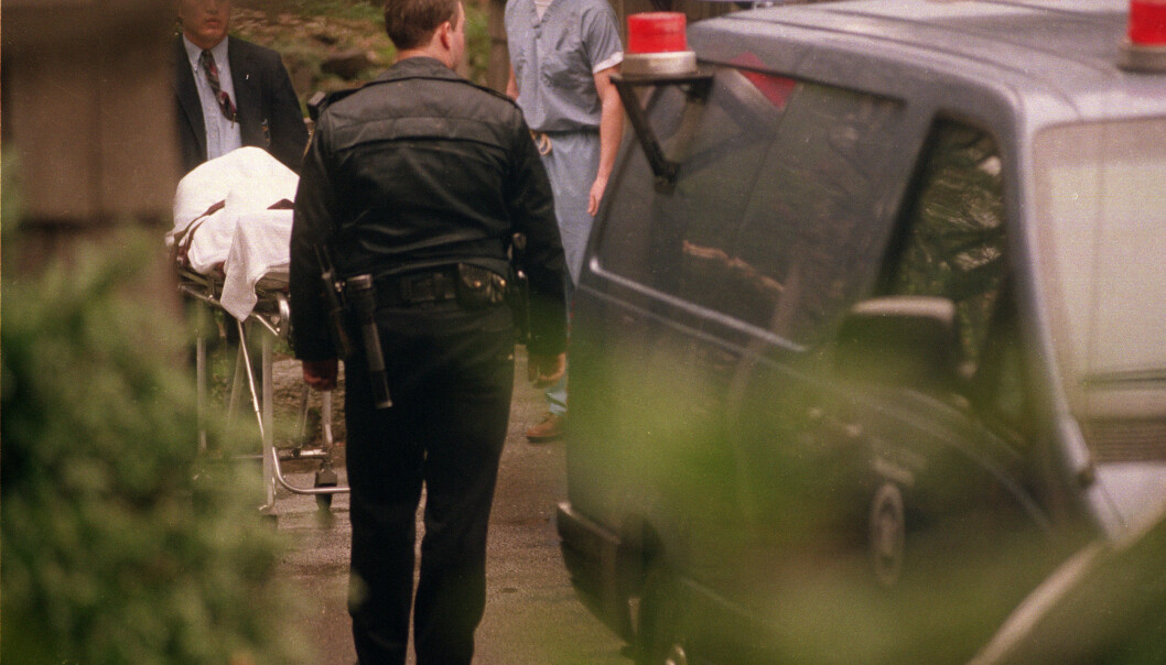 FUNNET DØD: Kurt Cobain ble funnet død i sitt eget hjem i april 1994, angivelig av en elektriker som kom for å installere et elektrisk anlegg. FOTO: NTB Scanpix