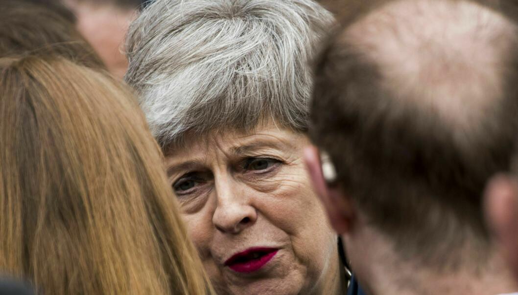 EU-skeptikere krever endringer for å godkjenne Mays brexitavtale