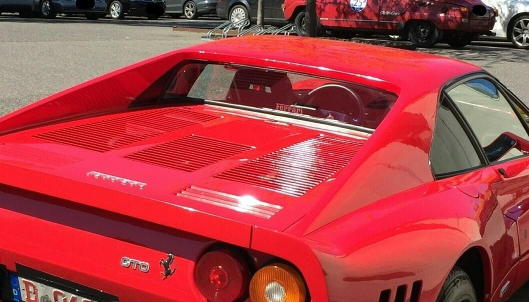 Stakk av med Ferrari under prøvekjøring