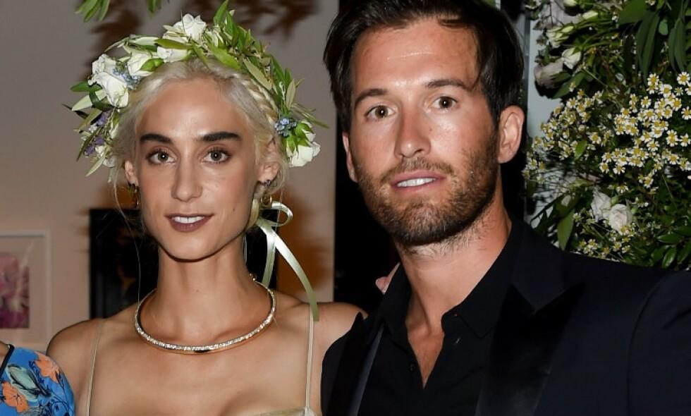 IKKE GIFT: Milliardærarving Andi Potamkin og kjendisfrisør William Jordan Blackmore giftet seg tilsynelatende i en storslått seremoni i 2015. Problemet var bare at det aldri ble offisielt. Det blir det nå en sak ut av. Foto: NTB scanpix