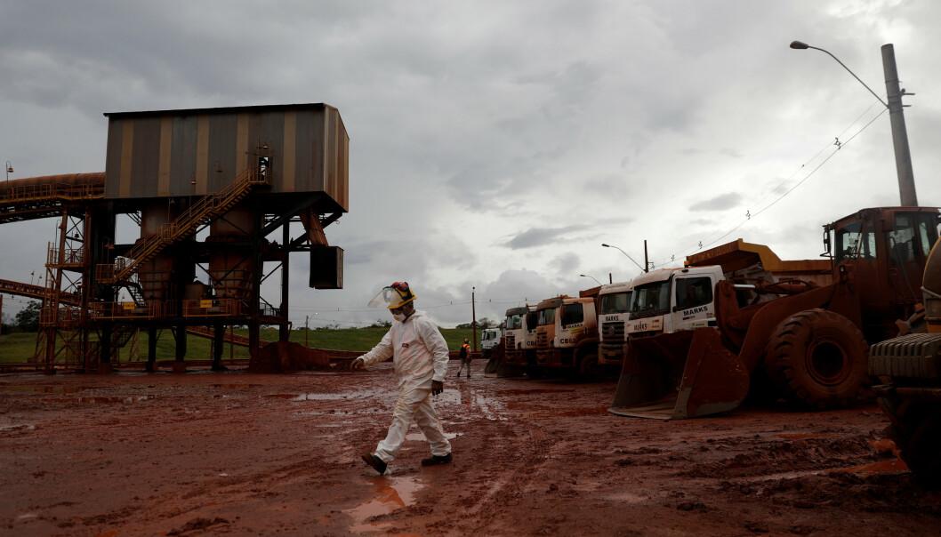 <strong>REDUSERT:</strong> Kapasiteten ved Alunorte-anlegget i Brasil er redusert etter et strømbrudd. Foto: Ricardo Moraes / Reuters / NTB Scanpix