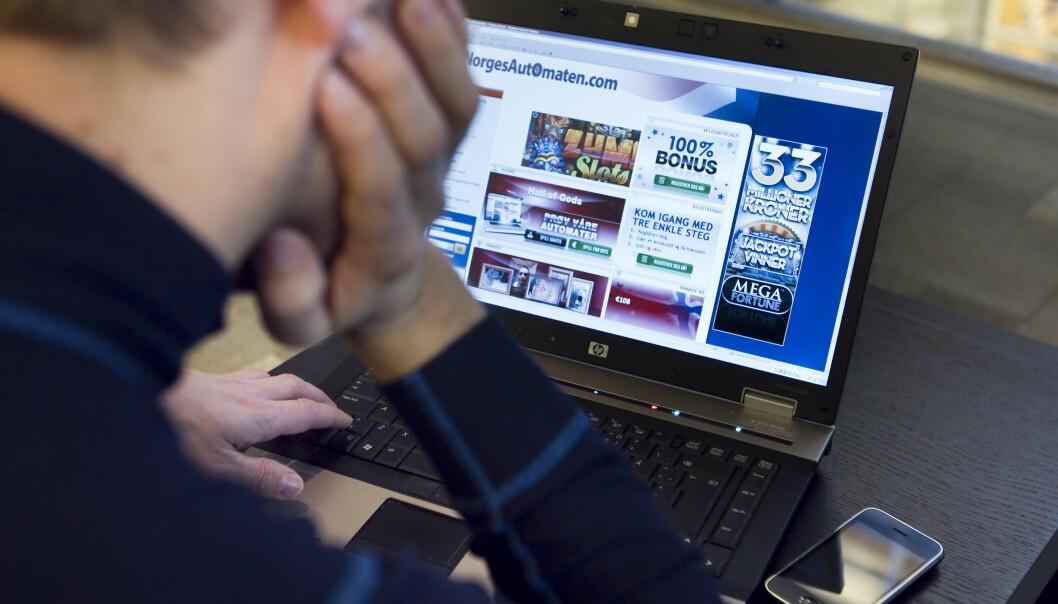 Norsk Tipping mener nettkasino er bekymringsfullt avhengighetsskapende. Foto: Heiko Junge / NTB scanpix