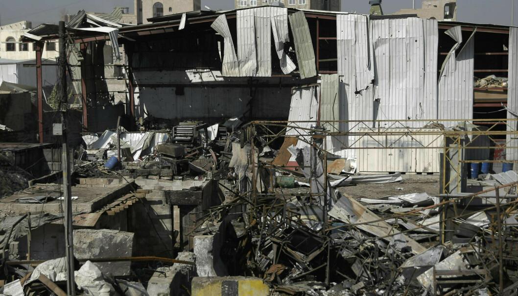 Saudi-Arabia og allierte bomber Jemens hovedstad - flere drept