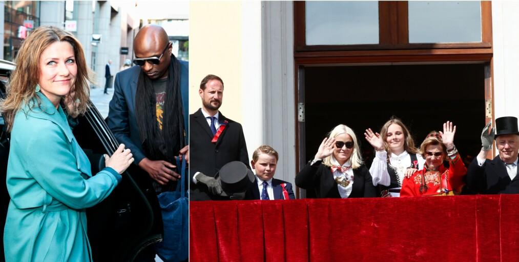 KLAR FOR NASJONALDAGEN: Allerede tirsdag kunne prinsesse Märtha Louises kjæreste Durek Verrett avsløre at han gleder seg til å feire 17. mai i Norge. Foto: NTB Scanpix