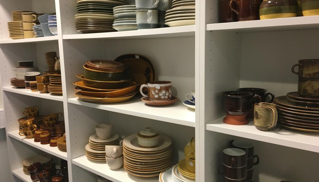 <strong>TRENDY:</strong> Tiden har kommet for de gamle keramikkservisene. Mange vil ha et til minne om foreldre eller besteforeldre, forteller servise-ekspert Tor Buaas. FOTO: NTB Scanpix.