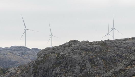 Nei til vindkraftindustri i urørt natur