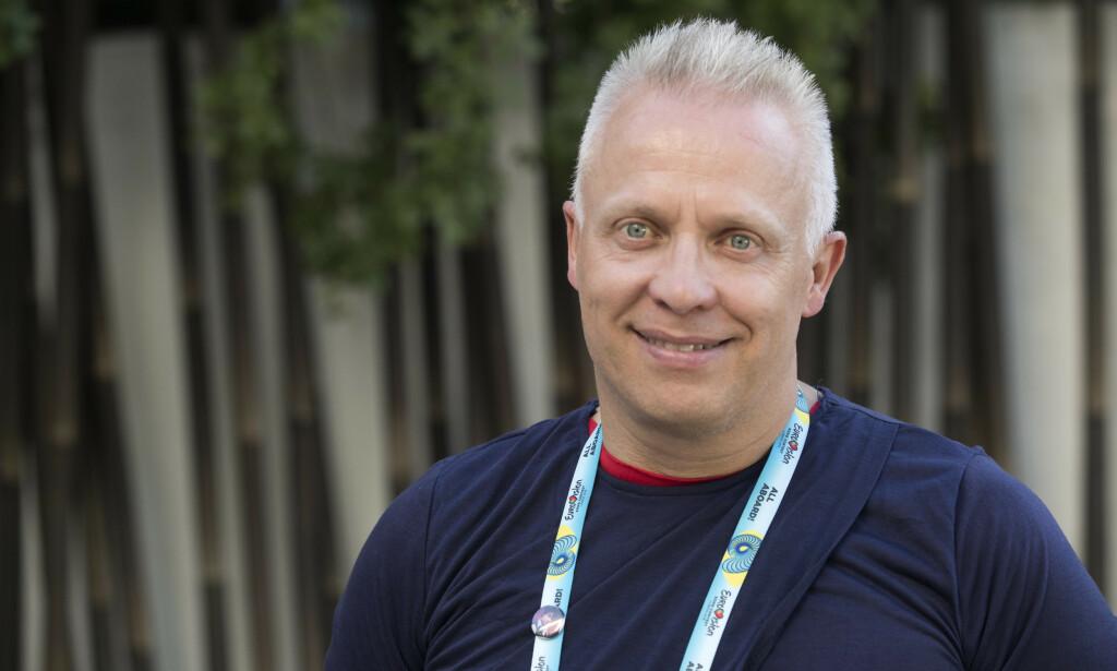 OMDISKUTERT JOIK: Morten Thomassen sier at joiken kan være en avgjørende faktor i kveldens semifinale. Foto: NTB scanpix