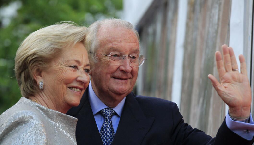 GIFT I 59 ÅR: Kong Albert II og italienske dronning Paola har vært gift siden 1959. Foto: NTB scanpix