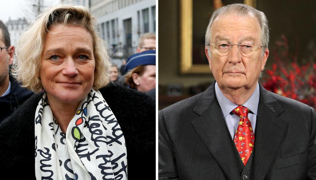 FIKK VILJA SI: Delphine Boël har i flere år kjempet for å finne ut hvem som er hennes biologiske far. Den tidligere belgiske kongen, Albert II, nekter derimot å avgi DNA-prøve. Det blir dyrt for ham. Foto: NTB scanpix