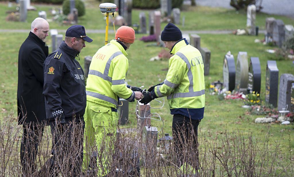 image: Politiet har åpnet fem graver på leting etter Trine Frantzen