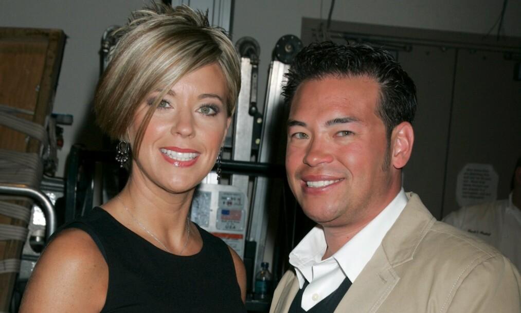 FEIDE: Jon og Kate Gosselin skilte seg i 2009, og har et dårlig forhold i dag. Det er kanskje derfor Jon nå kommer med et stikk mot eksens nye TV-konsept. Foto: NTB scanpix