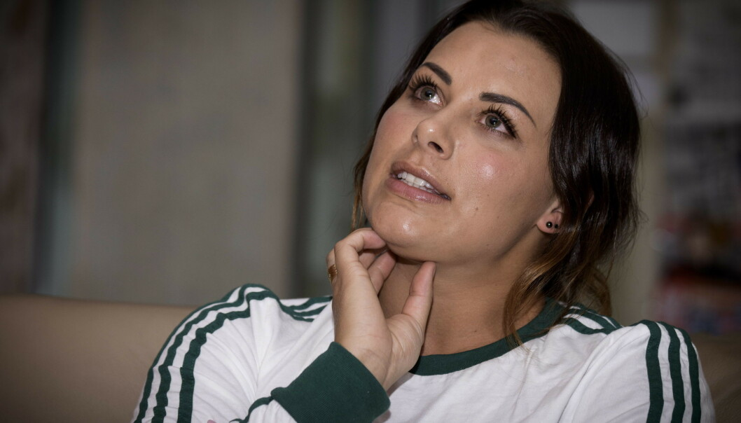 DELTE BILDE: I et nytt bilde på Instagram, går håndballstjerna Nora Mørk langt i å bekrefte forholdet til ishockeyspiller Martin Ylven. Foto: Lars Eivind Bones / Dagbladet