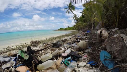 Rystende plastfunn i ferieparadis