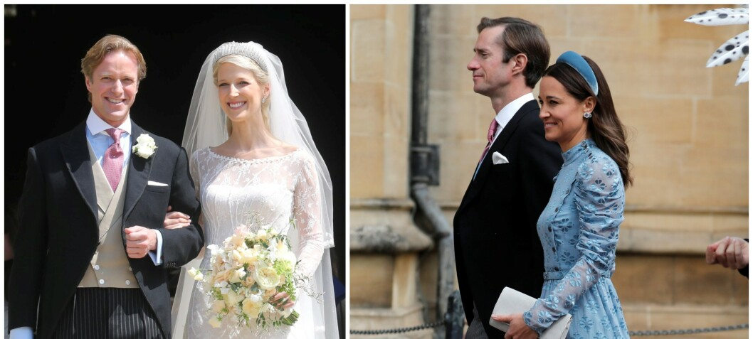 Pippa dukket opp i eksens bryllup